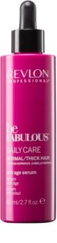 Revlon Professional Be Fabulous Daily Care vlažilni in posvetlitveni serum proti znakom staranja las
