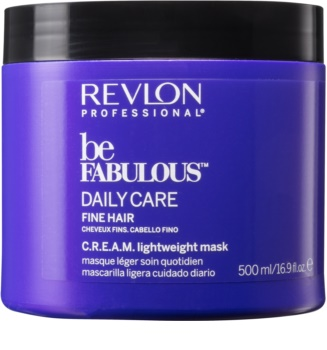 Revlon Professional Be Fabulous Daily Care Regenerating And Moisturizing Mask For Fine Hair