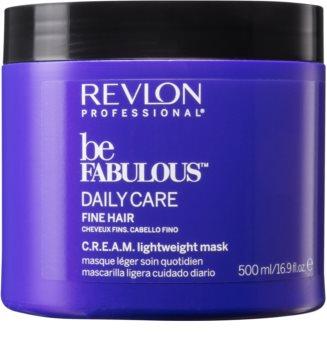 Revlon Professional Be Fabulous Daily Care Regenererande och återfuktande mask för fint hår