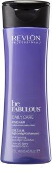 Revlon Professional Be Fabulous Daily Care șampon cu efect de volum pentru părul fin