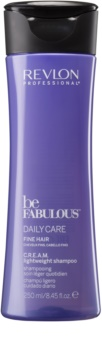 Revlon Professional Be Fabulous Daily Care Shampoo für mehr Haarvolumen bei feinem Haar