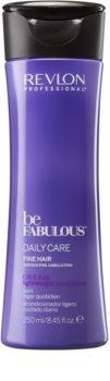 Revlon Professional Be Fabulous Daily Care balzam za volumen tankih las