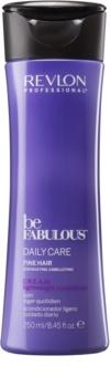 Revlon Professional Be Fabulous Daily Care kondicionér pre objem jemných vlasov
