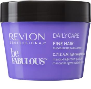 Revlon Professional Be Fabulous Daily Care regeneračná a hydratačná maska pre jemné vlasy