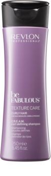 Revlon Professional Be Fabulous Texture Care hydratační šampon pro definici vln