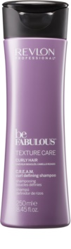 Revlon Professional Be Fabulous Texture Care szampon nawilżający do włosów kręconych
