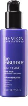 Revlon Professional Be Fabulous Daily Care hydratačné mlieko pre objem a silu vlasov