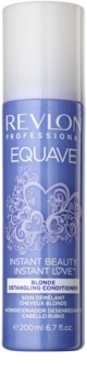 Revlon Professional Equave Blonde après-shampoing sans rinçage en spray pour cheveux blonds