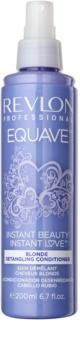 Revlon Professional Equave Blonde odżywka w sprayu bez spłukiwania do włosów blond