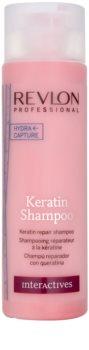 Revlon Professional Interactives Keratin keratinový regenerační šampon