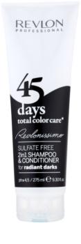 Revlon Professional Revlonissimo Color Care šampon i regenerator 2 u 1 za vrlo tamne i crne nijanse kose