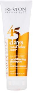 Revlon Professional Revlonissimo Color Care šampón a kondicionér 2 v 1 pre medené tóny vlasov