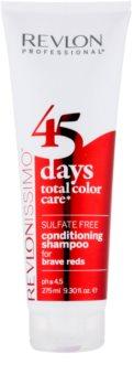 Revlon Professional Revlonissimo Color Care shampoo e balsamo 2 in 1 per toni rossi