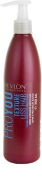Revlon Professional Pro You Texture bálsamo suavizante para alisamento temporário de cabelo