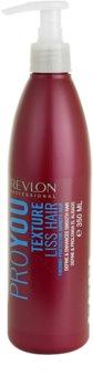 Revlon Professional Pro You Texture uhlazující balzám pro dočasné narovnání vlasů