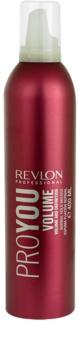 Revlon Professional Pro You Volume mousse para fixação normal