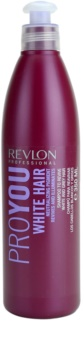 Revlon Professional Pro You White Hair shampoing pour cheveux blonds et gris