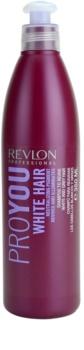 Revlon Professional Pro You White Hair shampoo per capelli biondi e grigi