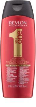 Revlon Professional Uniq One All In One подхранващ шампоан  за всички видове коса