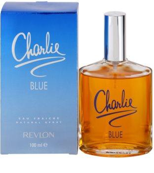 Revlon Charlie Blue Eau Fraiche Eau de Toilette voor Vrouwen  100 ml