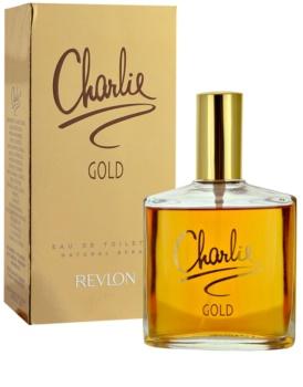 Revlon Charlie Gold eau de toilette pentru femei 100 ml