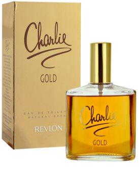Revlon Charlie Gold Eau de Toilette voor Vrouwen  100 ml