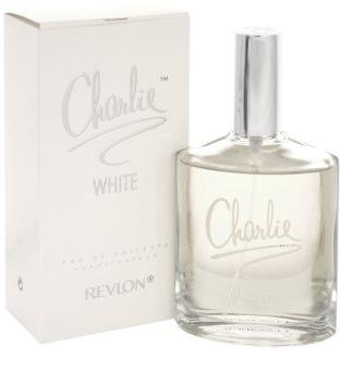 Revlon Charlie White eau de toilette pour femme 100 ml