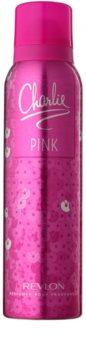Revlon Charlie Pink deospray pro ženy 150 ml