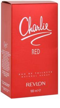 Revlon Charlie Red eau de toilette pour femme 100 ml