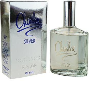 Revlon Charlie Silver Eau de Toilette para mulheres 100 ml
