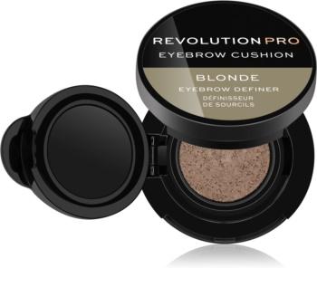 Revolution PRO Eyebrow Cushion barva na obočí v houbičce