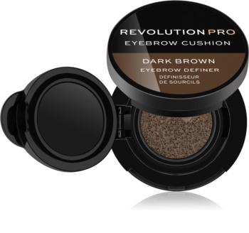 Revolution PRO Eyebrow Cushion farba na obočie v hubke