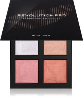 Revolution PRO 4K Highlighter Palette paleta rozjasňovačov