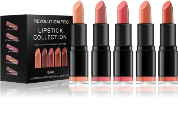 Revolution PRO Lipstick Collection sada rúžov 5 ks