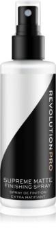 Revolution PRO Supreme спрей для фіксації макіяжу з матуючим ефектом