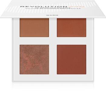 Revolution PRO 4K Bronzer Palette bronzující paletka