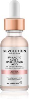 Revolution Skincare 5% Lactic Acid + Hyaluronic Acid exfoliant facial