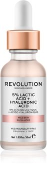 Revolution Skincare 5% Lactic Acid + Hyaluronic Acid Face Scrub