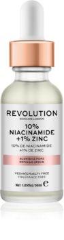 Revolution Skincare 10% Niacinamide + 1% Zinc sérum para poros dilatados
