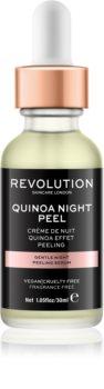 Revolution Skincare Quinoa Night Peel nežni nočni piling serum