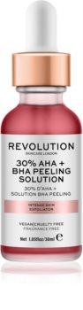 Revolution Skincare 30% AHA + BHA Peeling Solution Εντατική χημική απολέπιση για λαμπρή επιδερμίδα