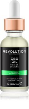 Revolution Skincare CBD Oil hranilno olje za suho kožo
