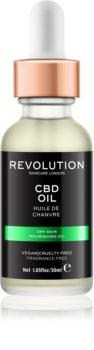 Revolution Skincare CBD Oil nährendes Öl für trockene Haut