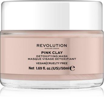 Revolution Skincare Pink Clay Detoxifying Skin Mask