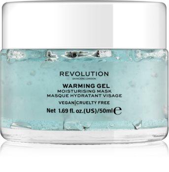 Revolution Skincare Warming Gel feuchtigkeitsspendende Gesichtsmaske