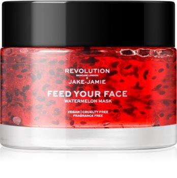 Revolution Skincare Jake-Jamie Watermelon masque visage hydratant