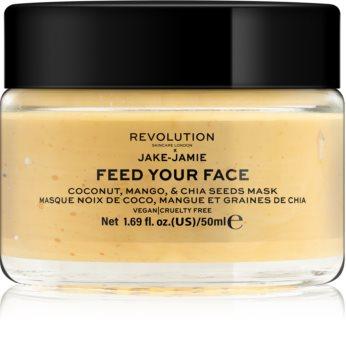 Revolution Skincare Jake-Jamie Coconut, Mango & Chia Seed Mask máscara facial radiance