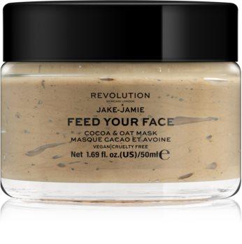 Revolution Skincare Jake-Jamie Cocoa & Oat Mask hidratáló arcmaszk