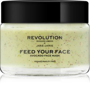 Revolution Skincare Jake-Jamie Avocado masque visage hydratant effet exfoliant