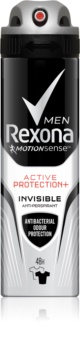 Rexona Active Protection+ Invisible antiperspirant v spreji pre mužov